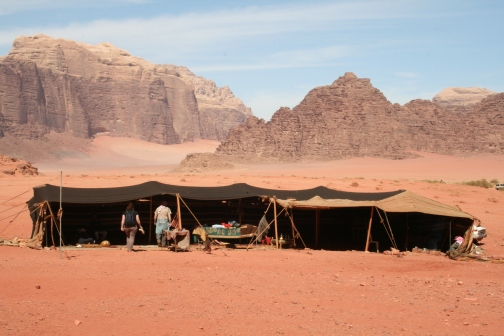Our Bedouin camp, Wadi Rum