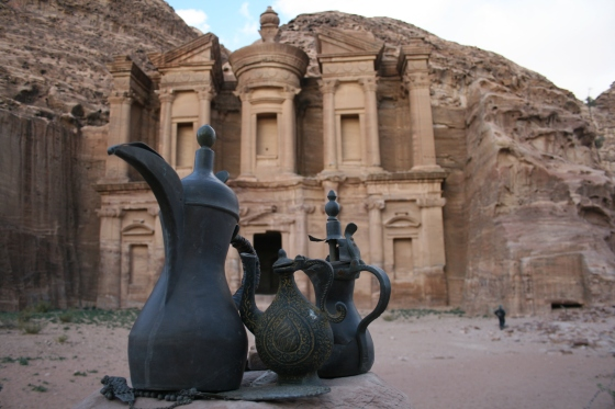 Tea time in Petra