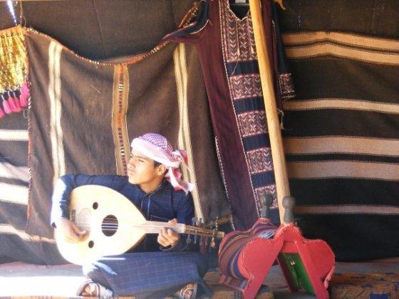 Tea tent, Wadi Rum