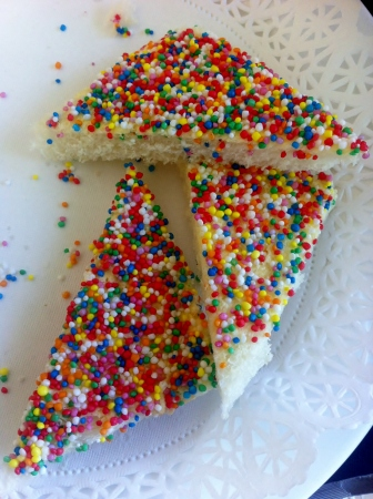Fairy bread sweetness
