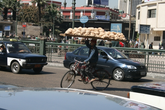 Bread delivery Cairo