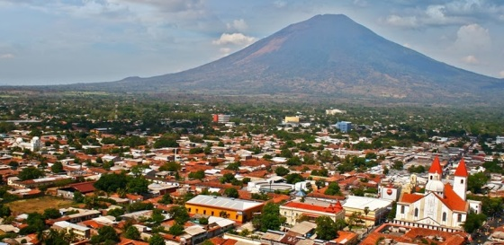 Chaparrastique volcano